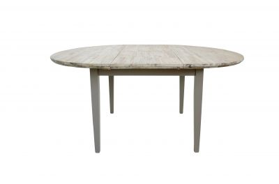 large round extending table (115/160)