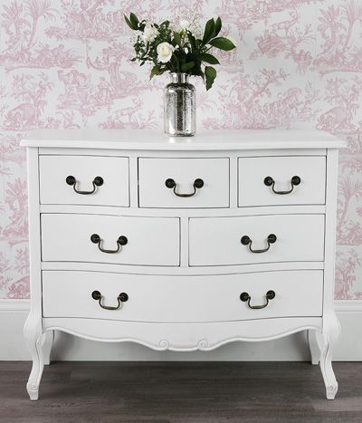 Statement Furniture UK Juliette Shabby Chic White