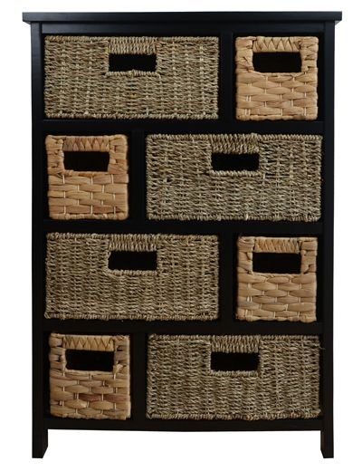 Statement Furniture Uk Tetbury Black Cabinet With 8
